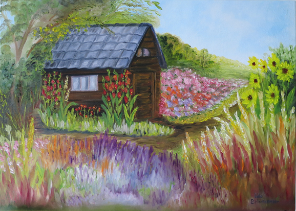 Landschap for Www bloem en tuin nl